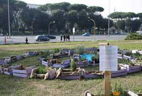 """""""Orto Errante"""" mobile garden"""